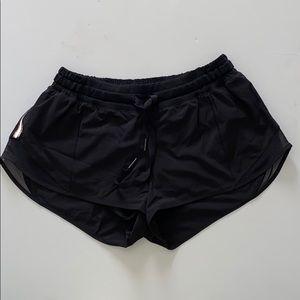 """Lululemon """"Hotty Hot"""" Shorts 4inch"""